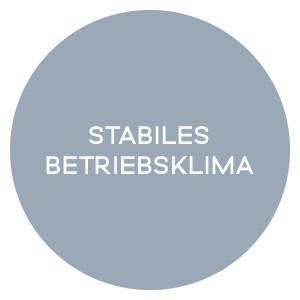 STABILES BETRIEBSKLIMA