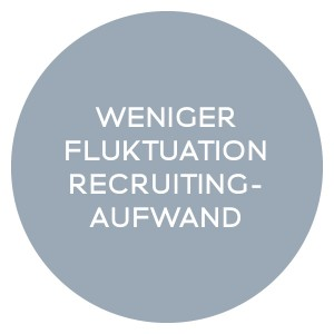 WENIGER FLUKTUATION