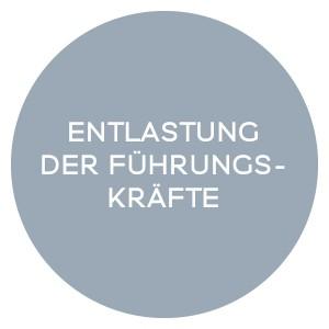 ENTLASTUNG DER FÜHRUNGSKRÄFTE