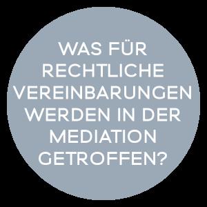 Was für rechtliche Vereinbarungen werden mit dem Mediator getroffen?